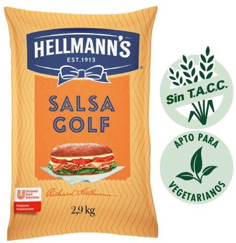 Salsa Golf Hellmann's 2.9kg (Exclusivo de Argentina, Uruguay)