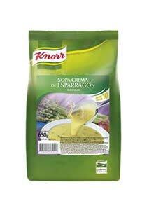 Sopa Crema de Esparragos Knorr 620 G (Exclusivo de Argentina, Uruguay)