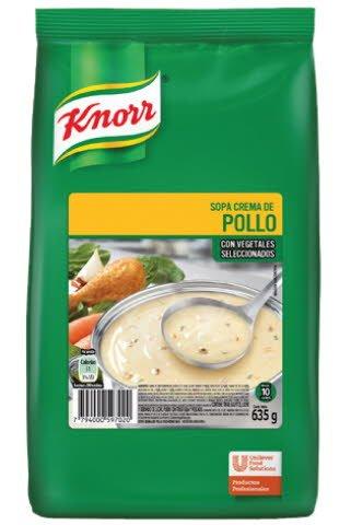 Sopa Crema de Pollo Knorr 635 G (Exclusivo de Argentina, Uruguay)