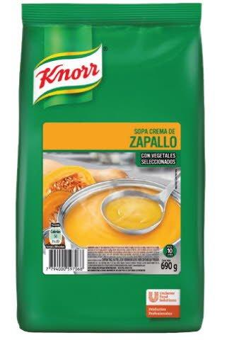 Sopa Crema de Zapallo Knorr 735 G -