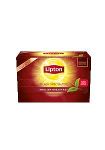 Té English Breakfast Lipton 20 BLS (Exclusivo de Argentina) -
