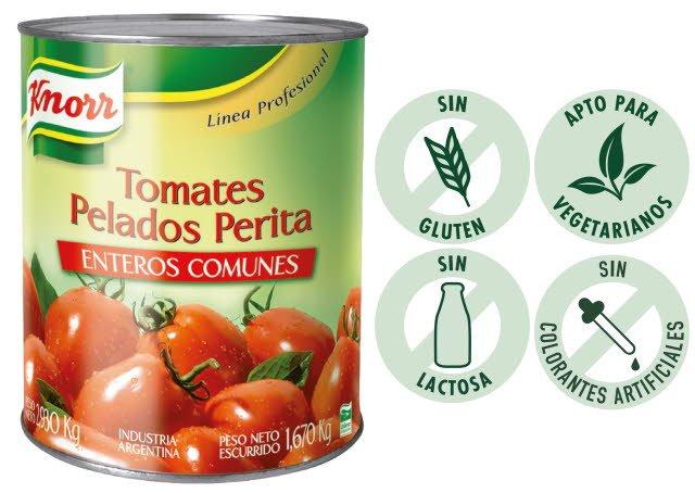 Tomate Perita Knorr 2.93KG (Exclusivo de Argentina) -