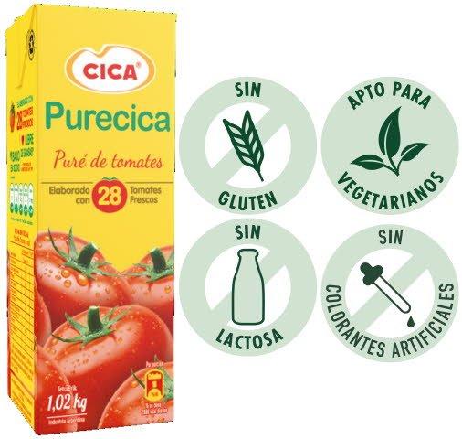 Tomate PureCica Tradicional -