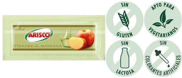 Vinagre de Manzana Arisco 8G (Exclusivo de Argentina) -