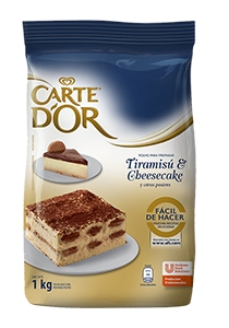 Carte D'or Tiramisú y Cheesecake 1kg