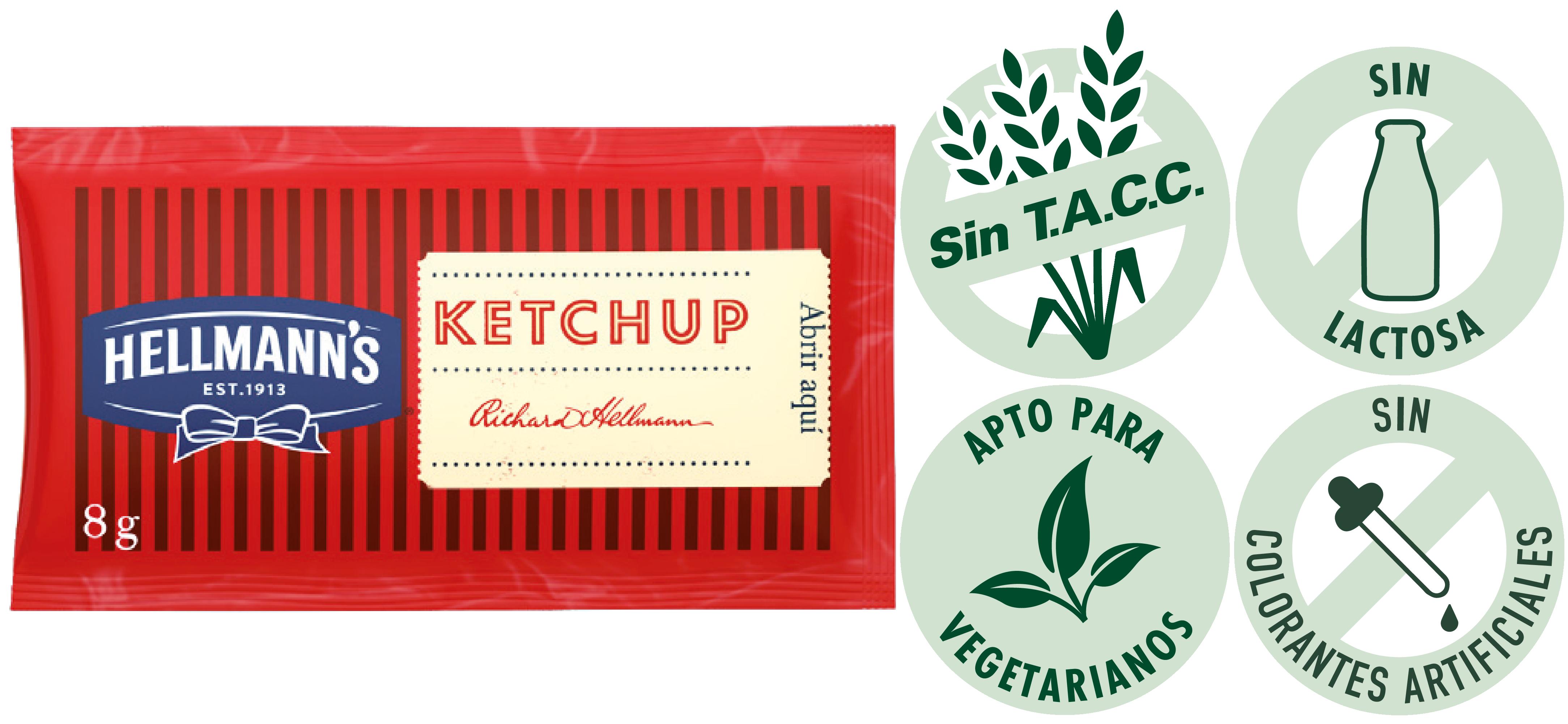 Ketchup Hellmann's 8g