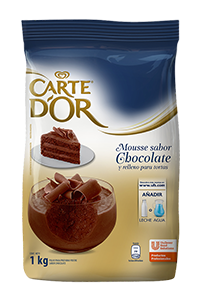 Mousse de Chocolate Carte D'or 1KG