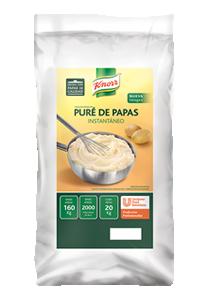 Puré de Papas Instantáneo Knorr 20 KG - Puré de Papas Instantáneo Knorr: escamas de papas seleccionadas para que coincidan con tu toque chef.