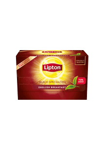 Té English Breakfast Lipton 20 BLS (Exclusivo de Uruguay)