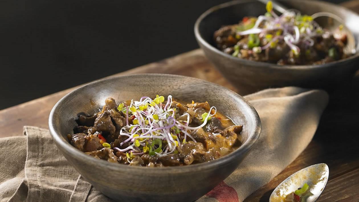 Cazuela de garron y arroz