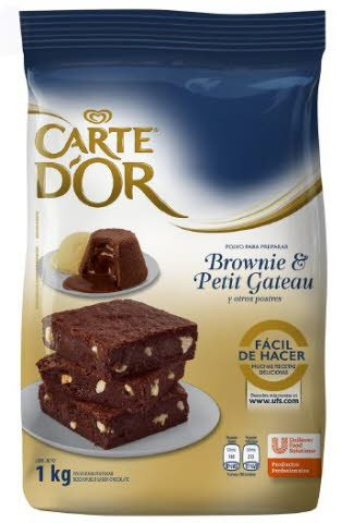Brownie / Petit Gateau Carte D'or 800G -