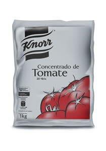 Concentrado de Tomate Knorr 1KG