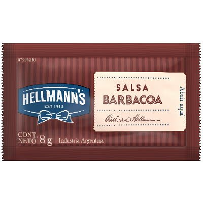 Hellmann's Salsa Barbacoa 8g (xCaja 196u) -