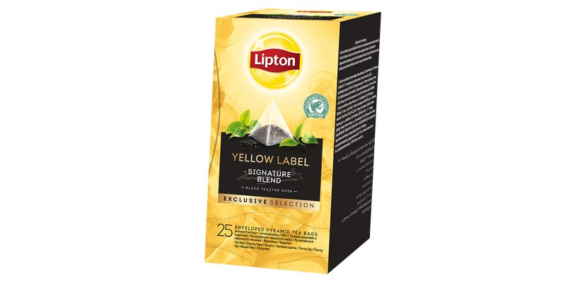 LIPTON TE YELLOW LABEL SIGNATURE 25BLS