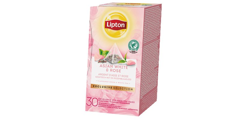 LIPTON TEA ASIAN WHITE&ROSE 30BLS -