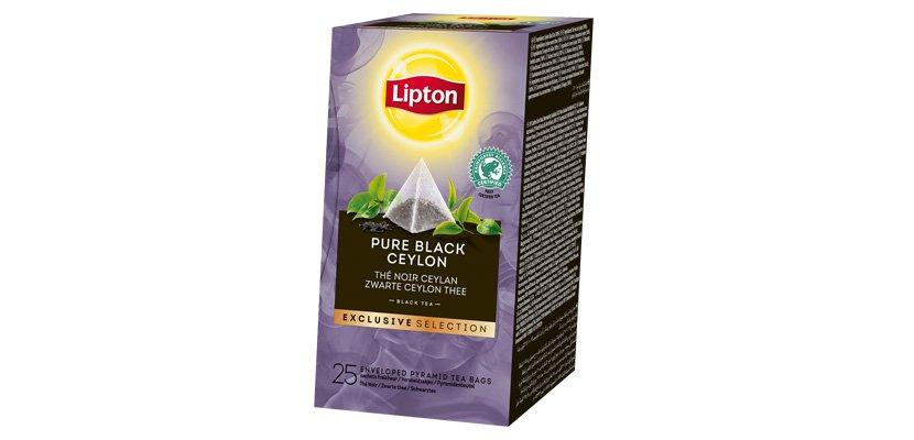 LIPTON TEA BLACK PURE CEYLON 25 BLS -