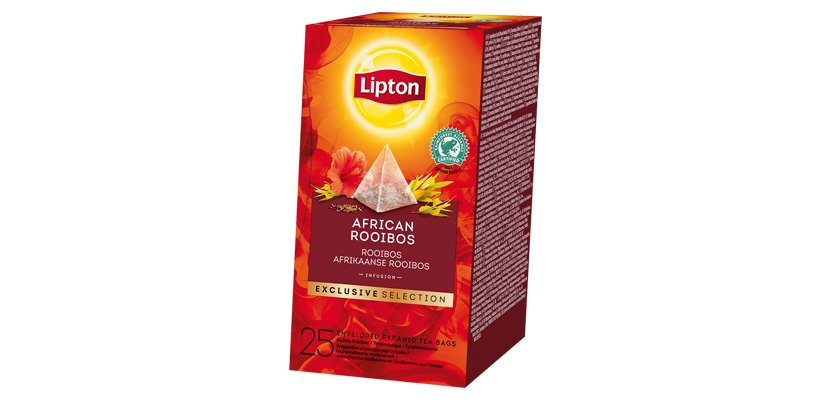 LIPTON TEA INF AFRICAN ROOIBOS 25BLS
