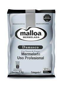 Mermelada Damasco Malloa 1KG
