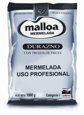 Mermelada Durazno Malloa 1KG