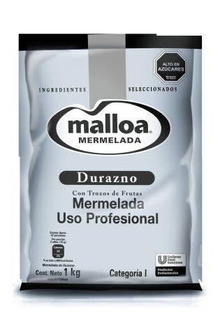 Mermelada Durazno Malloa 1KG -