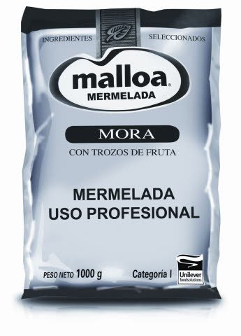 Mermelada Mora Malloa 1KG