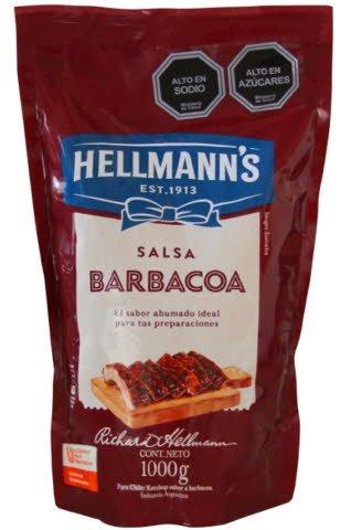 Salsa Barbacoa Hellmann's 1KG -
