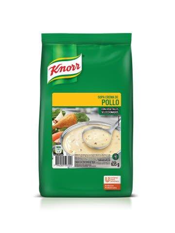 Sopa Crema Pollo Knorr 635G
