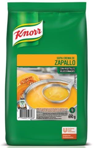 Sopa Crema Zapallo Knorr 690G -