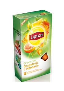 Cápsulas Lipton Green Tea Grapefr Mandar