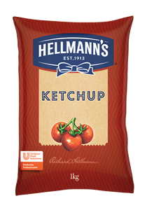 Ketchup Hellmann´s 1KG - Ketchup Hellmann's, muy bien percibido por los consumidores.
