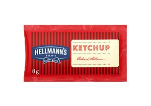 Ketchup Hellmann's 8g (x CAJA 528u) - El mejor formato para tu sandwich