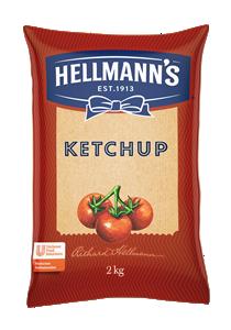 Ketchup Hellmann´s 2KG - Ketchup Hellmann's, muy bien percibido por los consumidores.