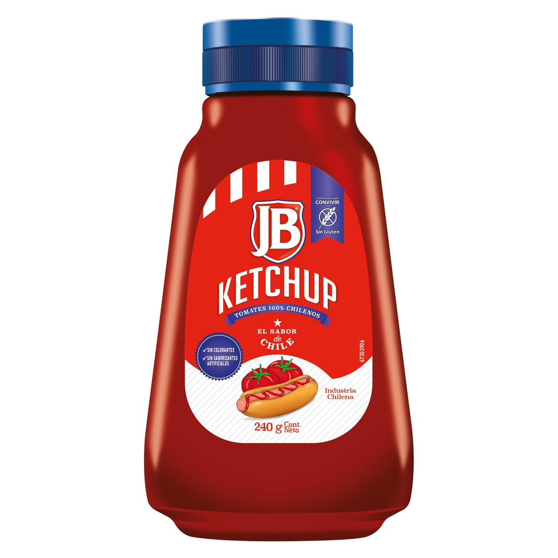Ketchup JB 240G - Ketchup JB, el sabor de Chile!