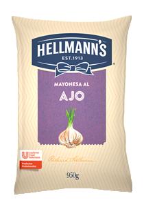 Mayonesa al Ajo Hellmann´s 950G - Salsas Listas Hellmann's, la línea de aderezos para tu cocina.