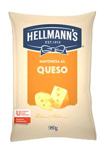 Mayonesa al Queso Hellmann's 980G - Salsas Listas Hellmann's, la línea de aderezos para tu cocina