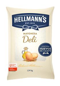 Mayonesa Deli Hellmann´s 1.94KG - Mayonesa Deli, el sabor irresistible de Hellmann´s contiene huevos de campo y nuestros mejores aceites