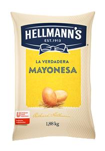 Mayonesa Hellmann´s 1.88KG - Mayonesa Hellmann's, el sabor irresistible de Hellmann´s contiene huevos de campo y nuestros mejores aceites