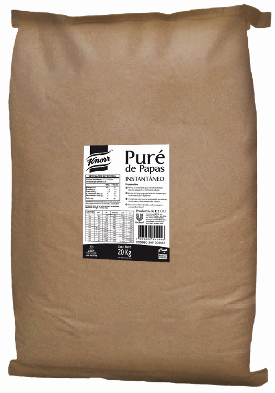 Pure de papas Knorr 20KG