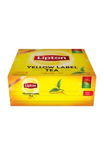 Yellow Label Lipton 100 BLS - Lipton, la marca n°1 de Té en el mundo!