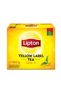 Yellow Label Lipton  50BLS - Lipton, la marca n°1 de Té en el mundo!