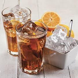 Amaretoo iced tea