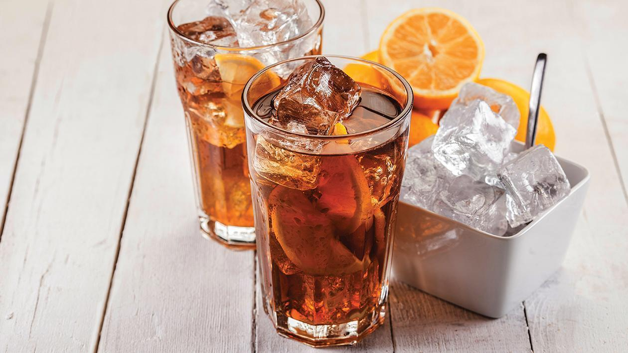 Amaretoo iced tea