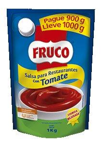 Fruco® Salsa de Tomate Para Restaurantes Doypack