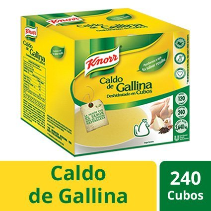 Knorr® Caldo de Gallina 240 Cubos