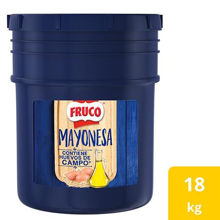 Fruco® Mayonesa Cuñete - Mayonesa* Fruco, el sabor preferido por 8 de cada 10 chefs colombianos.