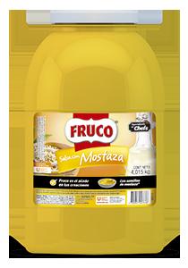 Fruco® Mostaza Galón - Mostaza* Fruco, el sabor de Fruco elaborado con semillas de mostaza.