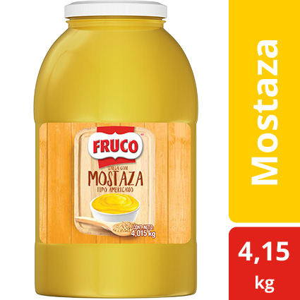 Fruco® Mostaza Galón
