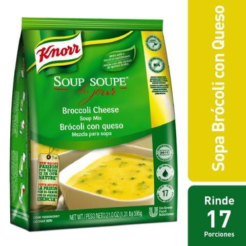Knorr® Brocoli y Queso - Mezcla para sopa