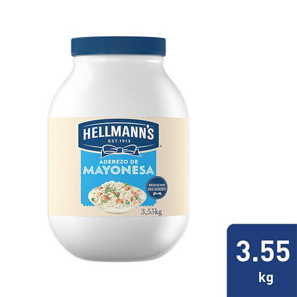 Hellmann's® Aderezo De Mayonesa, Mayo Dressing - Con Hellmann's® Aderezo Mayonesa podrá preparar sus aderezos, salsas frías y ensaladas de la forma más práctica y rápida, paraque sus comensales regresen por más.