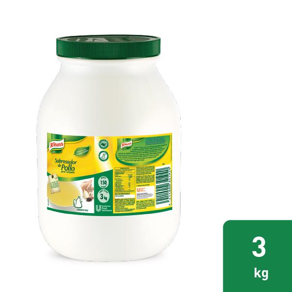Knorr® Sabrosador de Pollo - Por su balance de ingredientes, con Knorr® Sabrosador de Pollo y Knorr® Sabrosador de Costilla Criolla realzas el sabor de tus platillos.